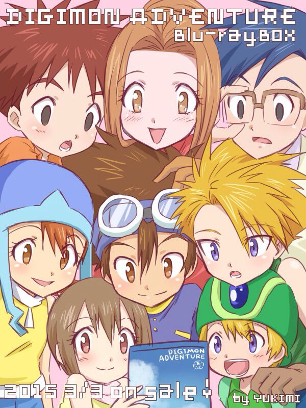 Look that sora hikari taichi yamato and takeru in the same line xD they are ma favorite