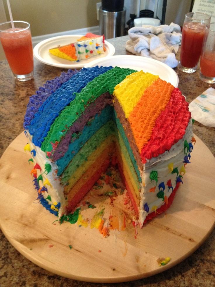 from Callum gay day cake recipe