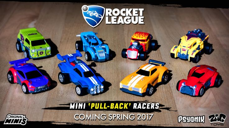 Rocket League Toys Coming This Spring (With images