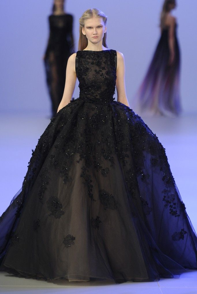 Styling Tips: Elie Saab Couture Spring 2014