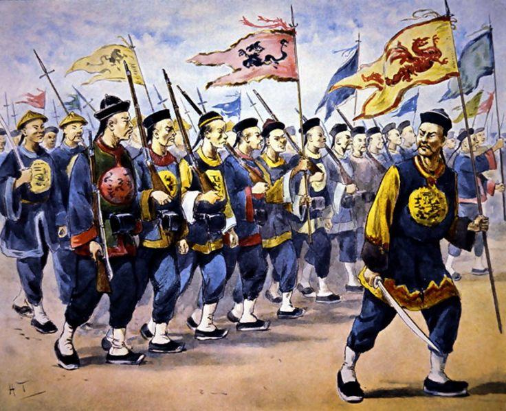 Imperial Qing troops