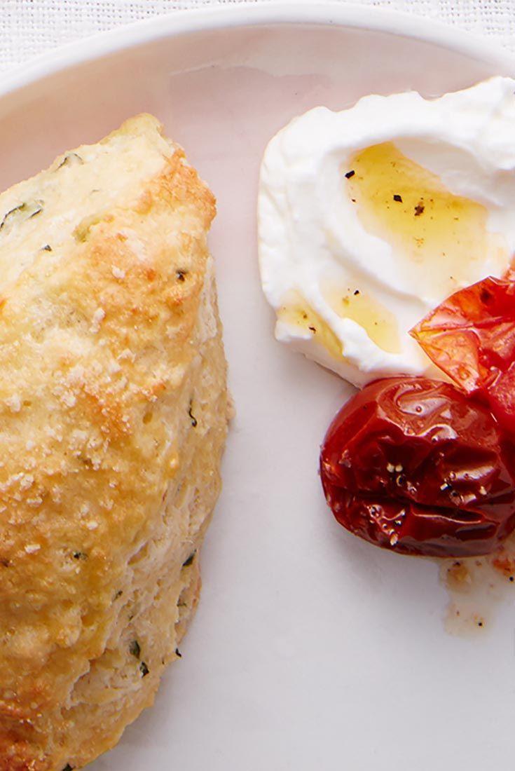 Basil & Parmesan Scones Recipe