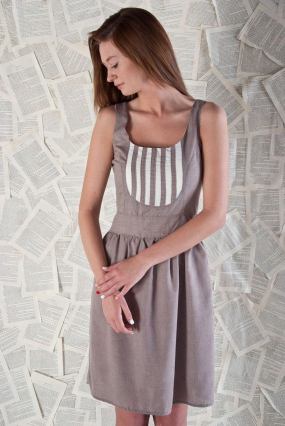 Bridesmaid Dress  Cotton Summer Dress Dusty Rose by TeakaMarie, $125.00