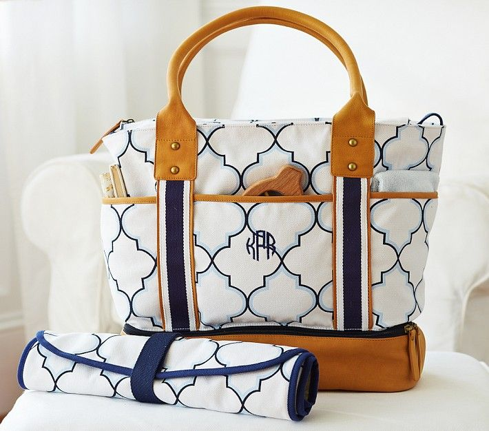 The best diaper bags for spring 2014. Preppy, nautical, striped, and colorful... We want them all!