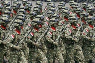 new TNI AD pixelated uniform