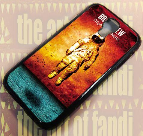 Brand New Deja Entendu For Samsung Galaxy S4 Black Rubber Case