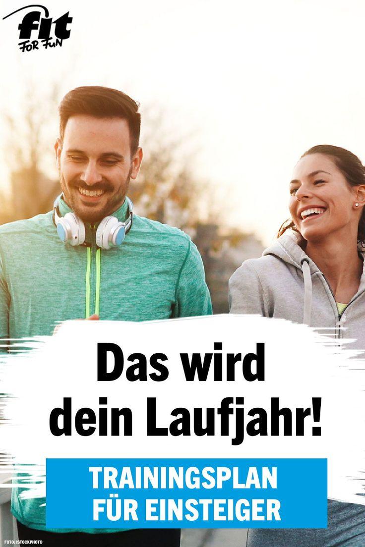 Laufen ist Fett- und Kalorienkiller Nr. 1! Du willst mit dem Joggen starten? Kei…