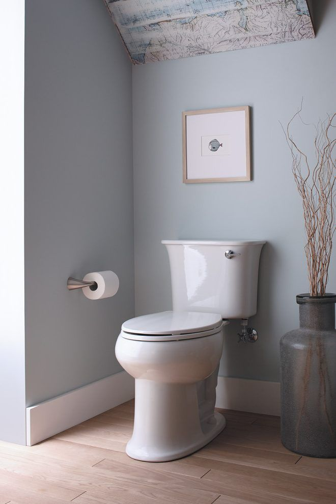 Benjamin Moore Harbor Haze Bathroom Bathroom Decor With