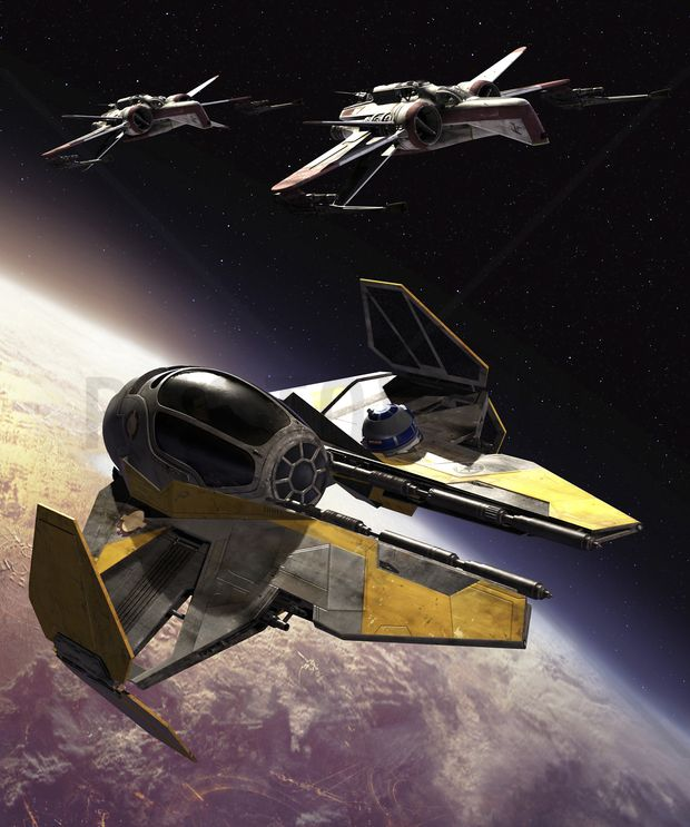Star Wars - ARC-170 Clone Starfighters