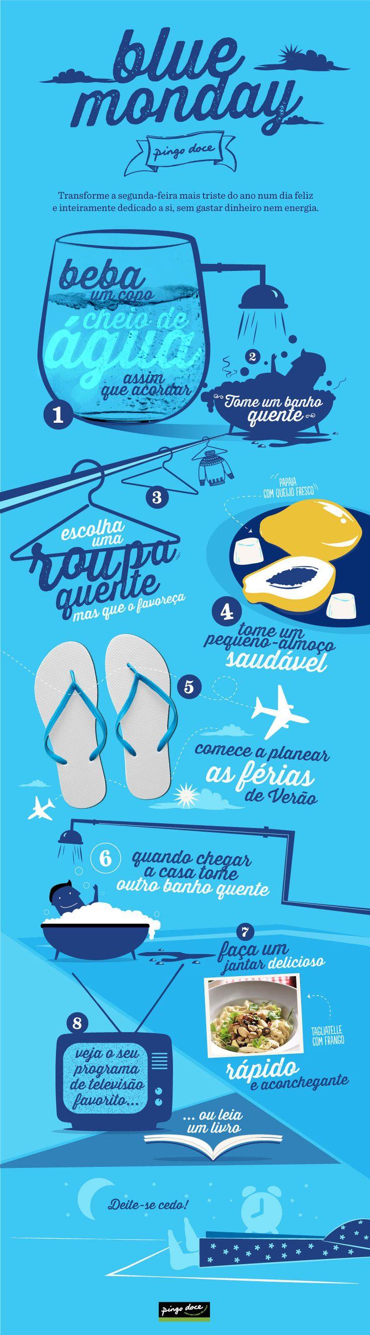 Infografias Pingo Doce: Blue Monday