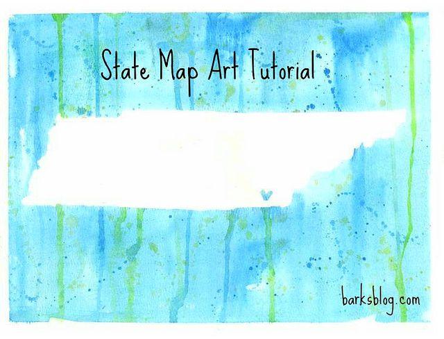 Best Diy Wall Art Ideas Images On Pinterest Diy Wall Art - Us state map diy photos