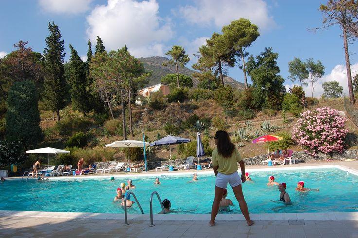 Le attività in piscina