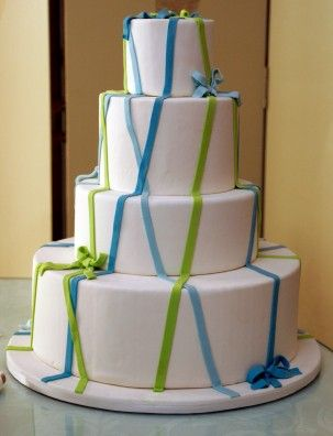 lime green and blue wedding cakes 1000 images about wedding green amp blue teal 16894