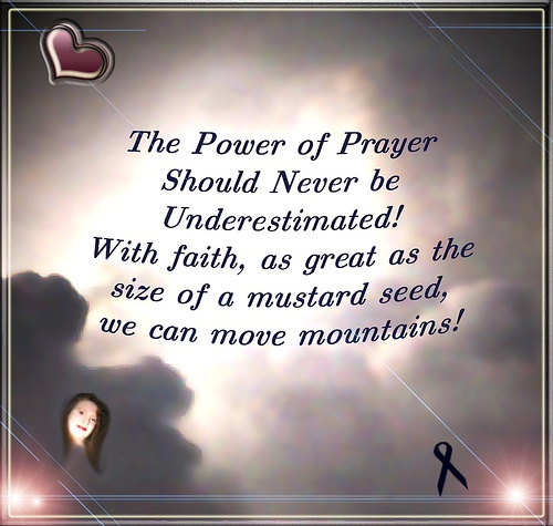 the power of faith and prayers My prayer for strength and power in prayer  teach me to daily come to you and pray faith-filled prayers for my needs and the need of those around me.