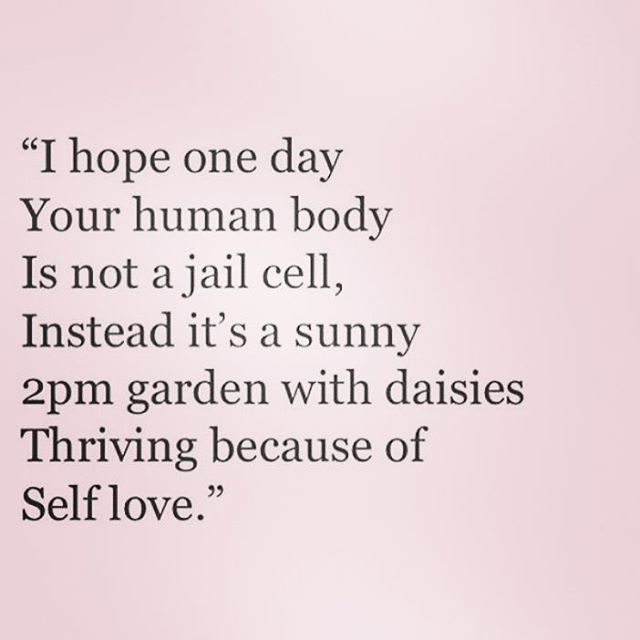 """1,522 Likes, 18 Comments - Positive Body Image  (@positivebodyimage) on Instagram: """"❤ #love #selfimage #quotes #positive"""""""