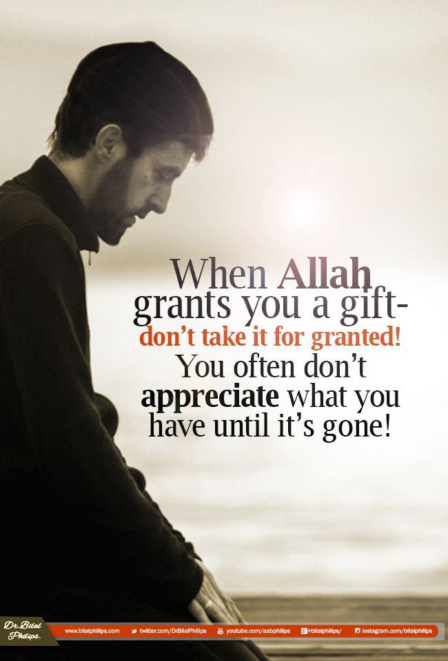 Appreciate what you have before it becomes what you had. #Gratitude