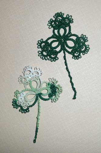 This Shamrock pattern is by Betsy Evans Copyright 2010.