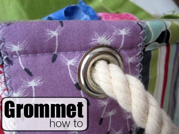 Have you ever used a grommet?  If the answer is no, my question to you is simple, Why not? Grommets are one of my favorite types of trims to add on a project.  I like to use them on everything from...