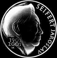 30 years ago, died Jaroslav Seifert, the only Czech writer with a Nobel Prize. https://en.wikipedia.org/wiki/Jaroslav_Seifert