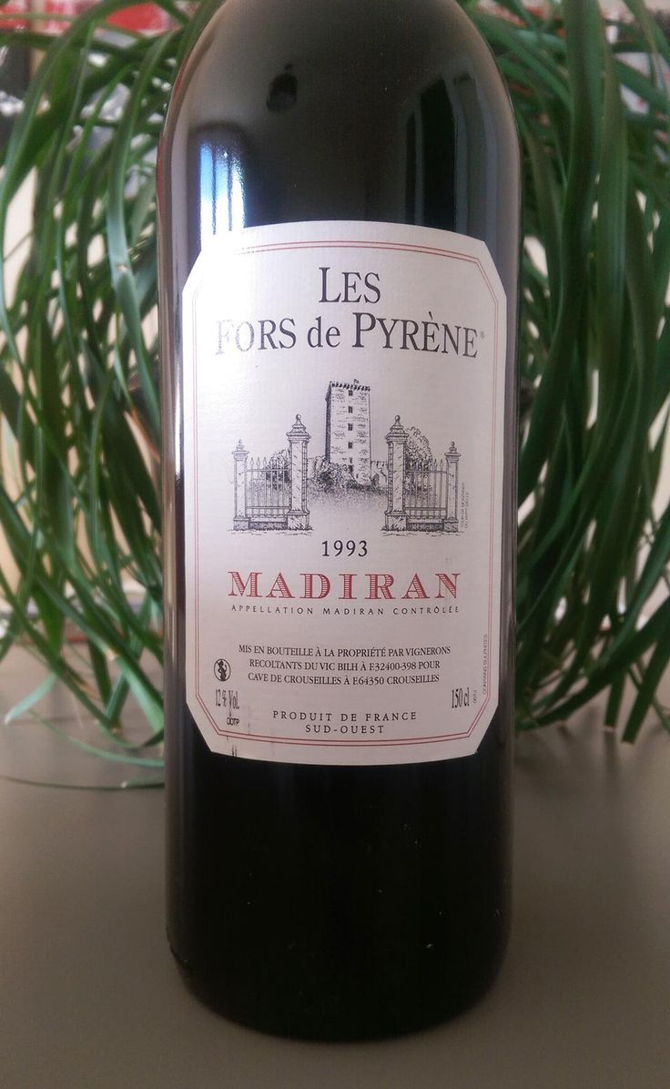 #QuelVin #wine This Magnum of #Madiran 93 lost his powerful and fruity character. However it remains pleasant. #Enjoy
