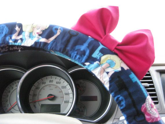 Steering Wheel Cover Bow