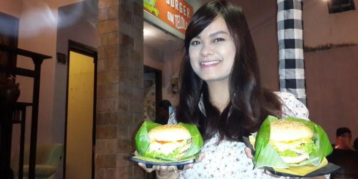 Burger Om Telolet Mencicipi Gurihnya Burger Khas Malang - Kuliner Malang