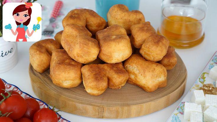 Keçi Patisi (Mayasız Pişi) Tarifi - Kevserin Mutfağı Yemek Tarifleri - YouTube