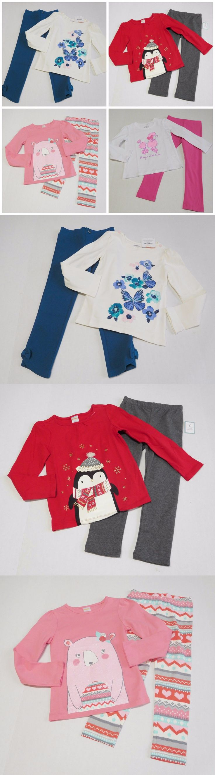 Mixed Items and Lots 147220: Nwt Girls Fall Lot Long Sleeve Shirts Leggings Gymboree Baby Gap Old Navy Sz 5T -> BUY IT NOW ONLY: $47.99 on eBay!