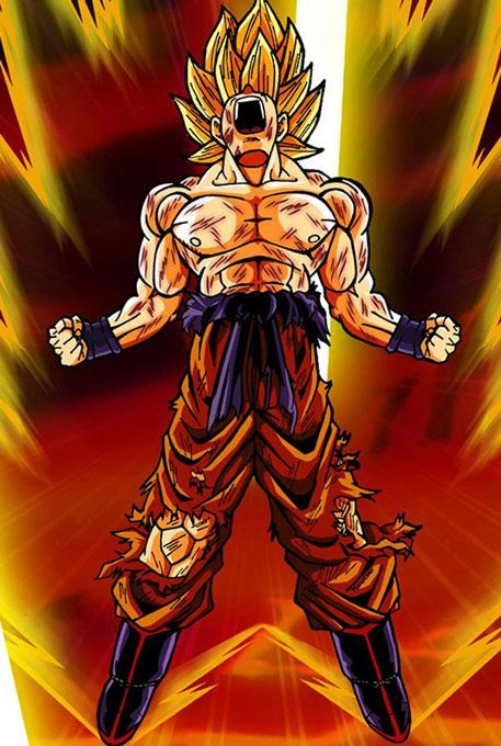 Dragon Ball Z Pictures Images, Download free Dragon Ball Z hd wallpaper Goku Super Saiyan Powers at www.freecomputerdesktopwallpaper.com/Goku_Super_Saiyan_Powers_freecomputerdesktopwallpaper.shtml