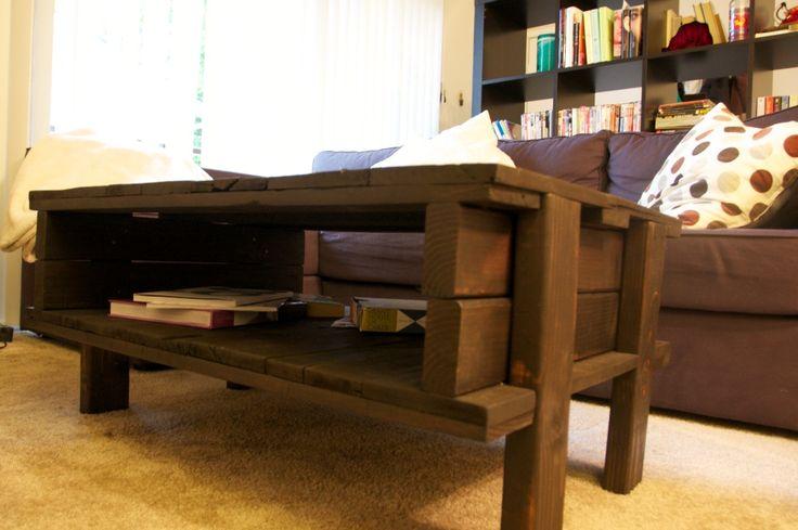 Design Raketa | Мебель из поддонов своими руками. Журнальный столик. | http://designraketa.ru