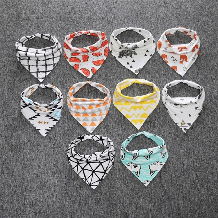 >> Click to Buy << Cotton super absorbent newborn Baby babador bandana bibs for babies Towel Toddler Triangle Scarf boys Girls burp Cloths #Affiliate