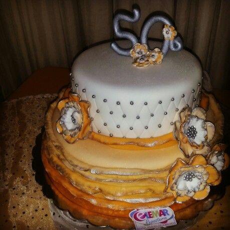 M s de 25 ideas incre bles sobre tortas para 50 a os solo - Ideas para cumpleanos de 50 anos ...