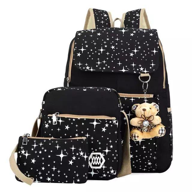 Yk wehbe leik niños mochilas escuela mochila impresión
