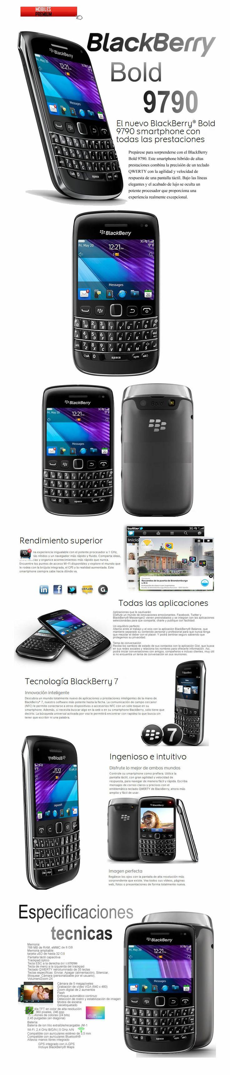 Comprar celular blackberry bold 9790 | venta de blackberry bold 9790 Argentina
