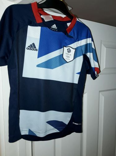 #Adidas england #olympic football #shirt london 2012 team gb 7-8 kids youth,  View more on the LINK: 	http://www.zeppy.io/product/gb/2/182411459629/