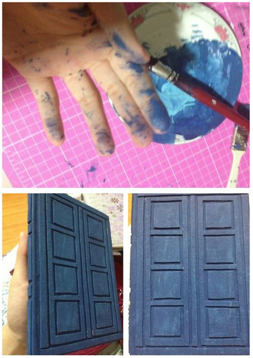 How to make River Song's Tardis Journal