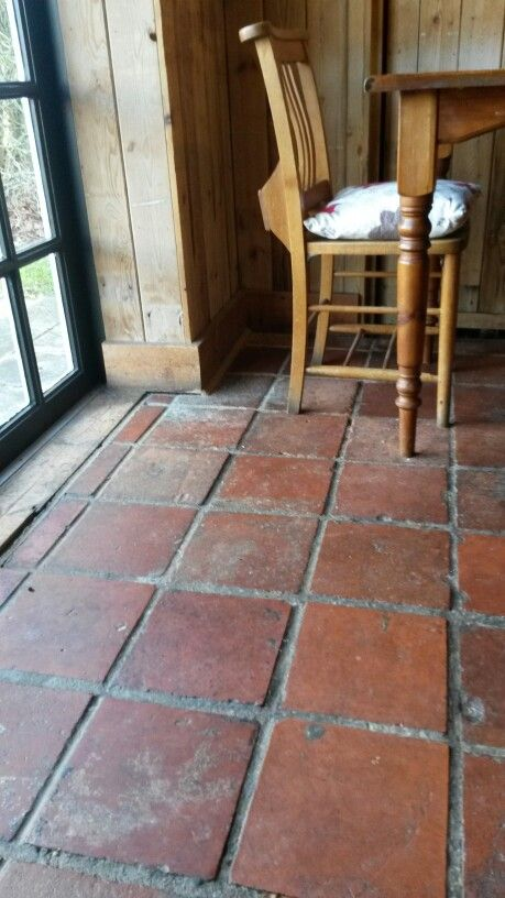 quarry tiles would match the rest of the house