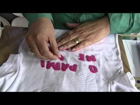 Ateliê na TV - Márcia Caires - Caminho de Mesa Florido - YouTube