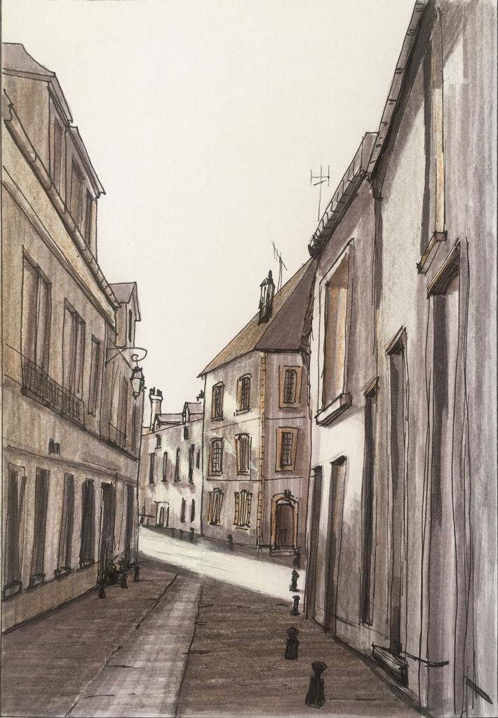 Day 23 Rue Moineau, Moret-sur-Loing from 22/11/2015