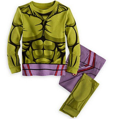 The Incredible Hulk Boys' Avengers Hulk Pajamas