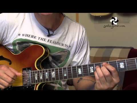 Jazz Standard: Blue Bossa - Chords - Kenny Dorham (Guitar Lesson JA-540) - YouTube