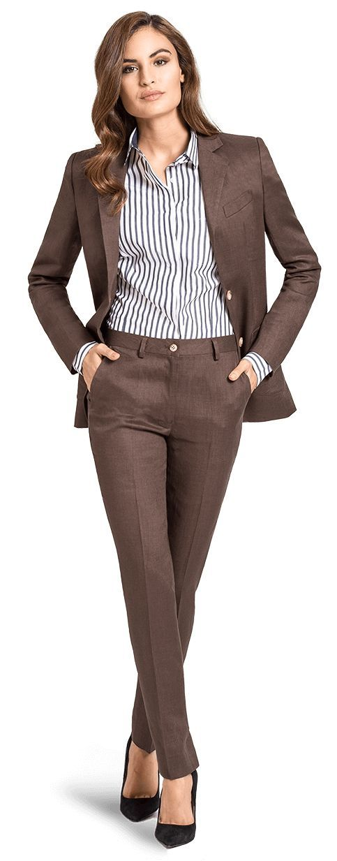 Custom Pant Suits for Women | Tailored Suit, Jackets and Pants | Sumissura