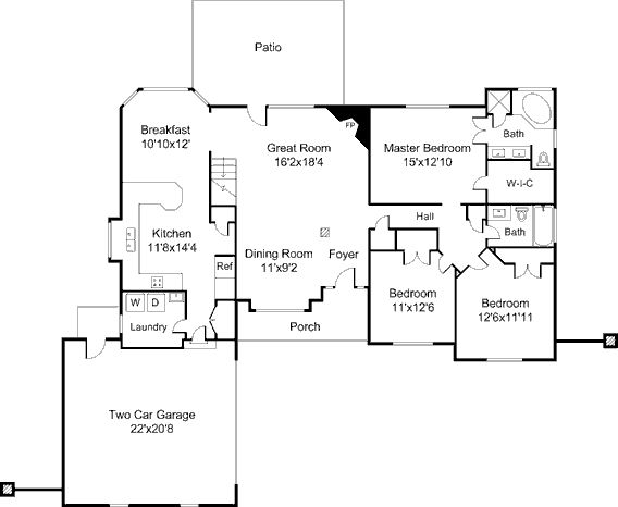 74 best images about floor plans on Pinterest Early american