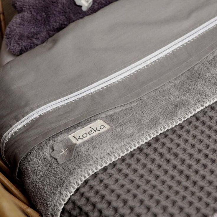 Koeka Deken Oslo Dark Grey / Soft Grey 140 x 200 cm