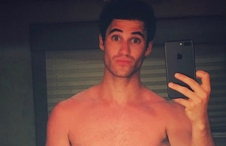 Darren Criss explains the racy speedo photo he posted 'I kind of wanted to take it back for myself'