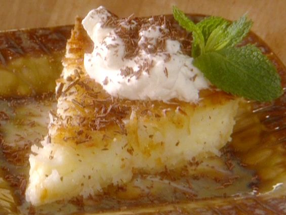 Paula Deen's French Coconut Pie Recipe. For coconut and custard lovers. So easy, too! Yummy...