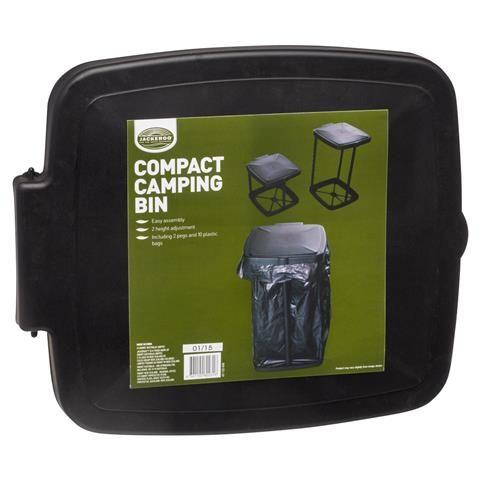 Compact Camping Bin