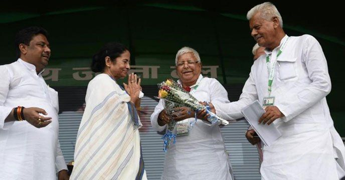 Patna: Lalu Prasad has invited leaders of all 17 political parties. He has the support of Trinamool Congress chief and West Bengal chief minister Mamata Banerjee and Samajwadi Party chief Akhilesh Yadav. One of the key attractions of the event will be Sharad Yadav's presence. He has challenged...