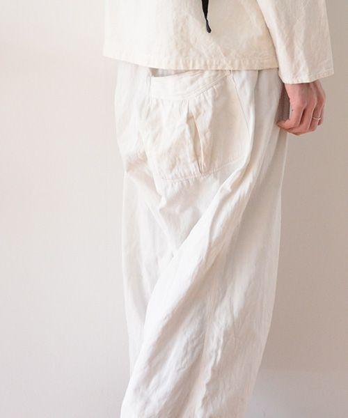 福島市の古着屋 Clothing and more FUNS BLOG: 《日本の古着》 ヴィンテージ 50年代 片ポケ コットン パンツ ホワイト ジャパン | FUNS