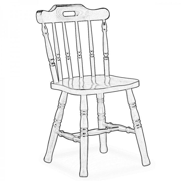 MONVISO. Le sedie Old America hanno uno stile classico e intramontabile per questo sono ancora oggi molto ricercate. Noi le forniamo grezze per darti la possibilità di verniciarle a tuo piacimento.